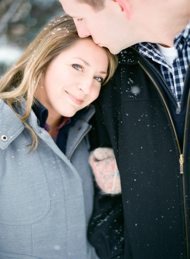 Amanda Nippoldt Photography, Midwest Wedding Photographer, Fine Art Film Photographer, Minnesota Photographer, Rice Park Engagement Session, St. Paul Engagement session, Winter engagement session, Film Photographer